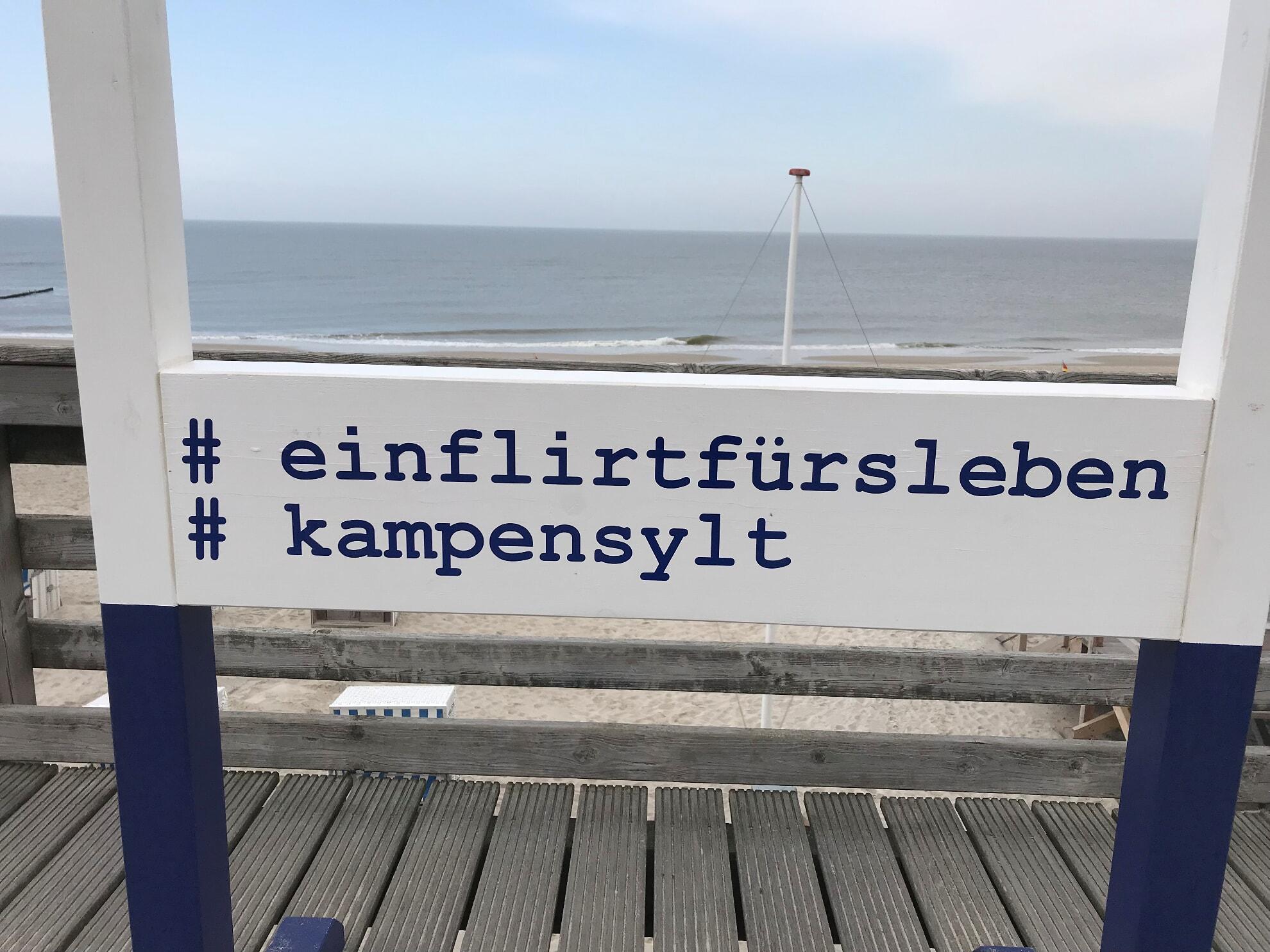 Kampener Selfie-Rahmen