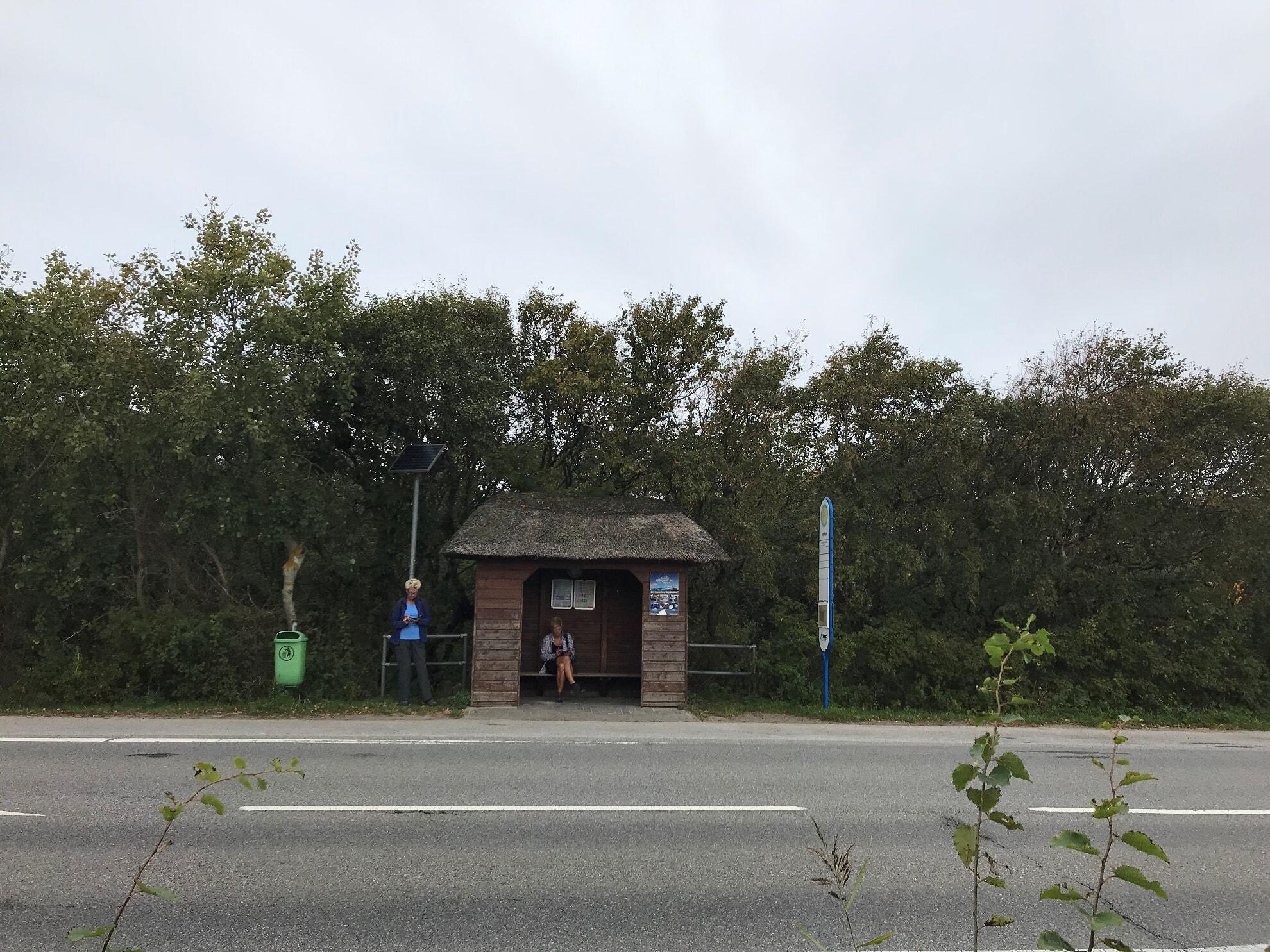 Bushaltestelle Vogelkoje Kampen