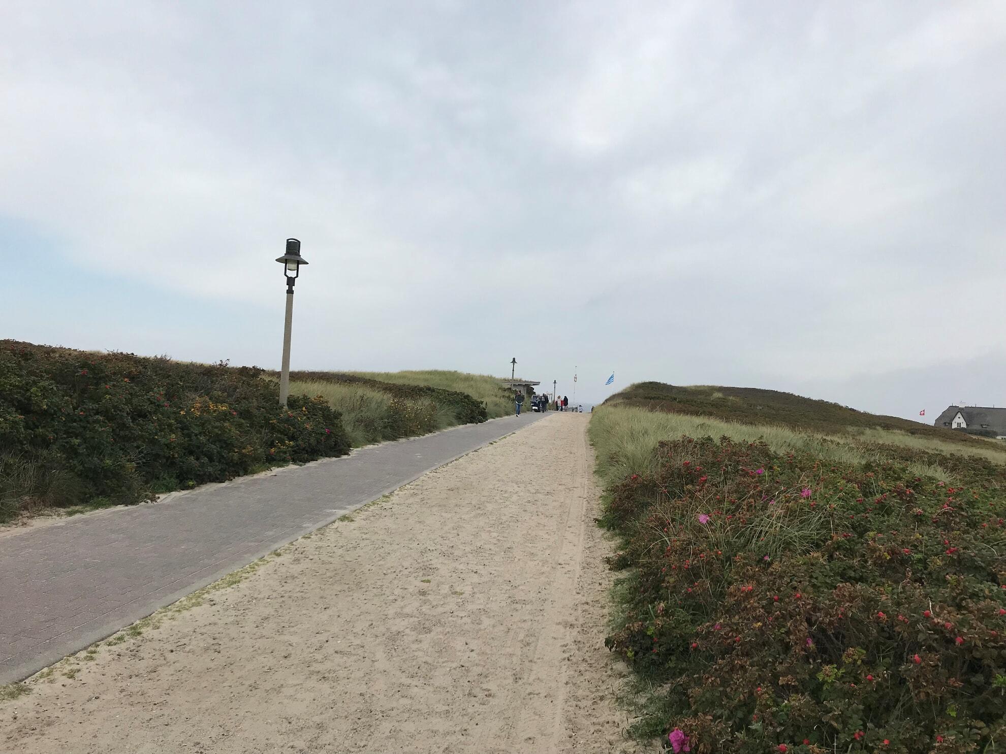 Strandübergang an der Sturmhaube