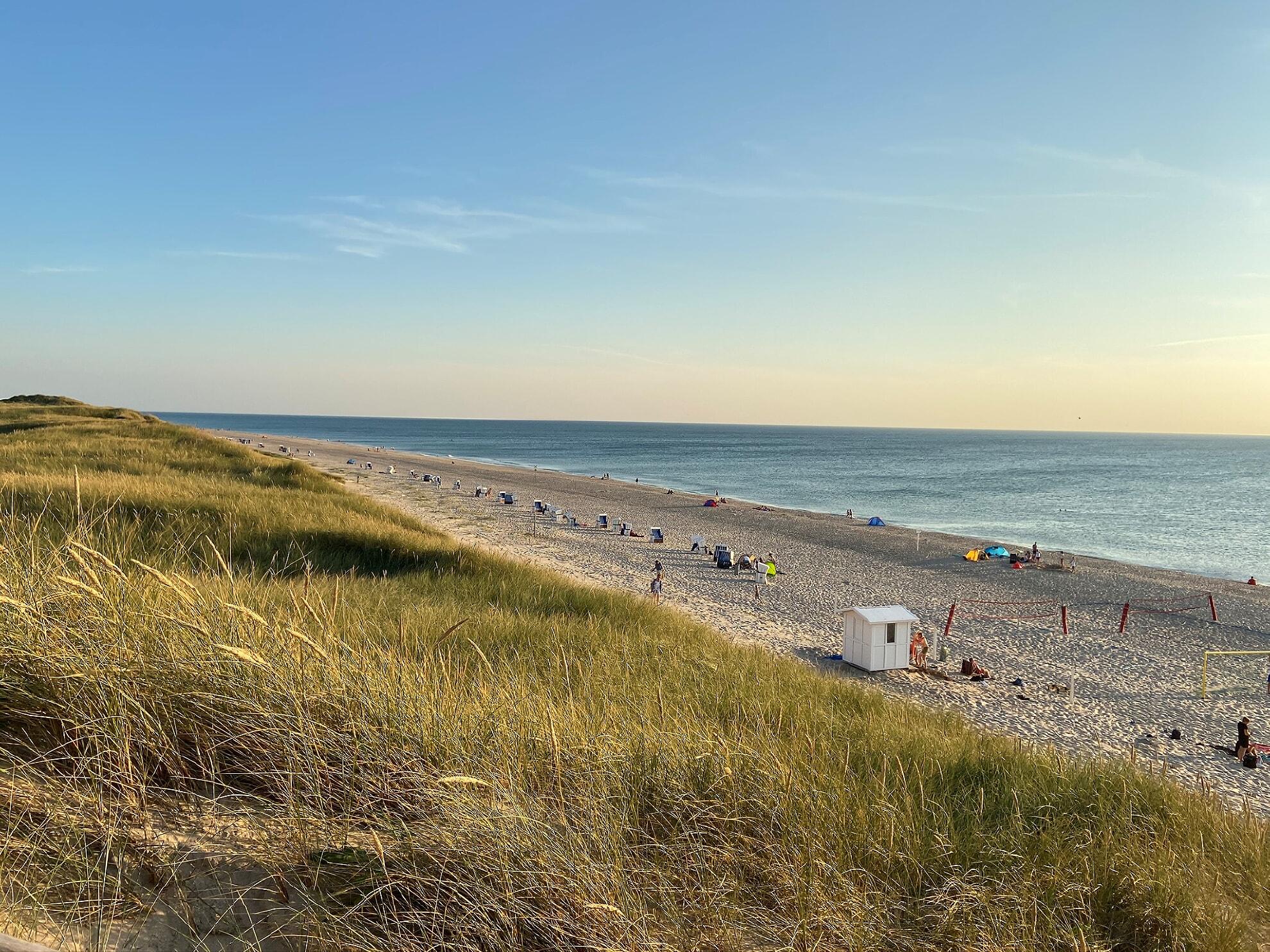 FKK-Strand am Westerländer Campingplatz