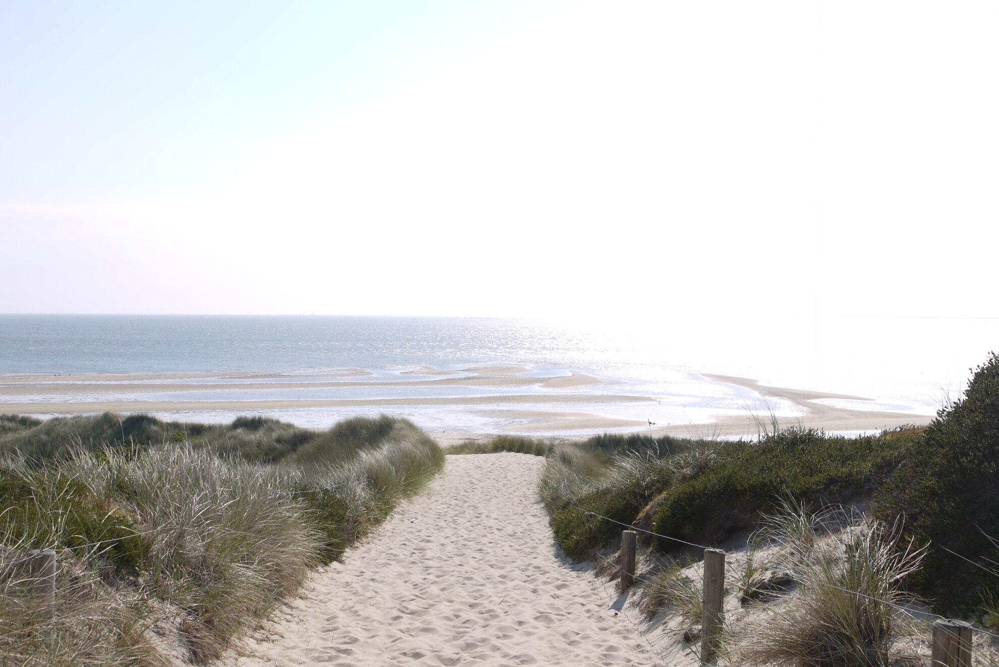 Strandübergang zur Hörnumer Nehrung