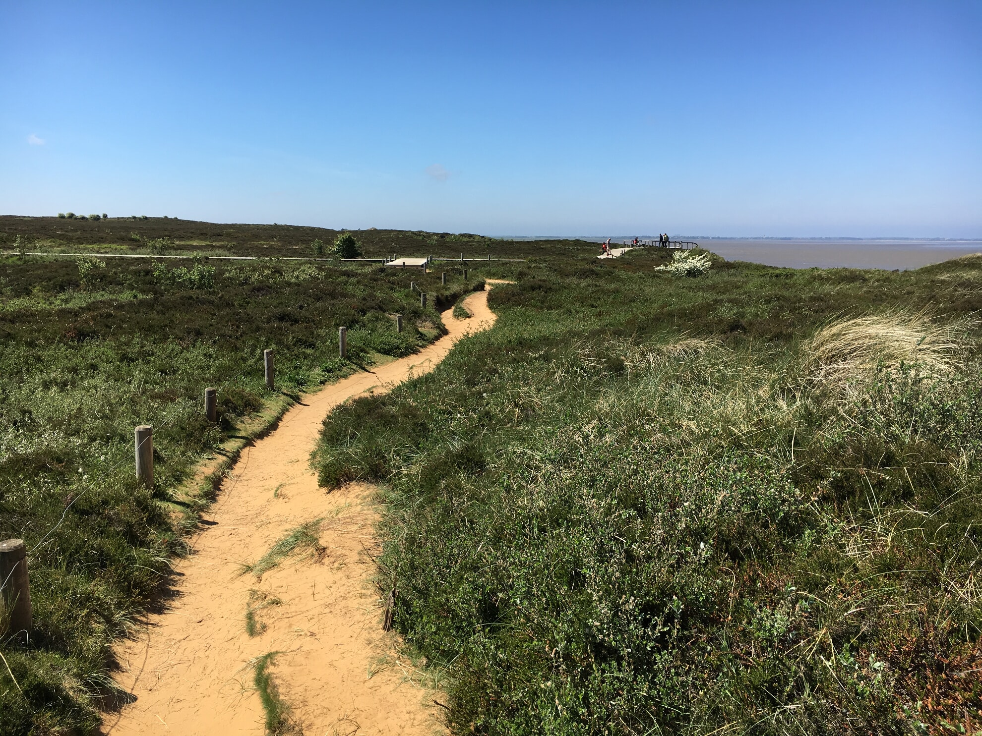 Wanderweg am Morsum-Kliff