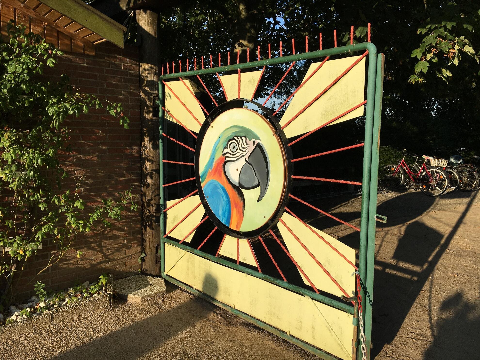 Eingang zum Tinnumer Tierpark