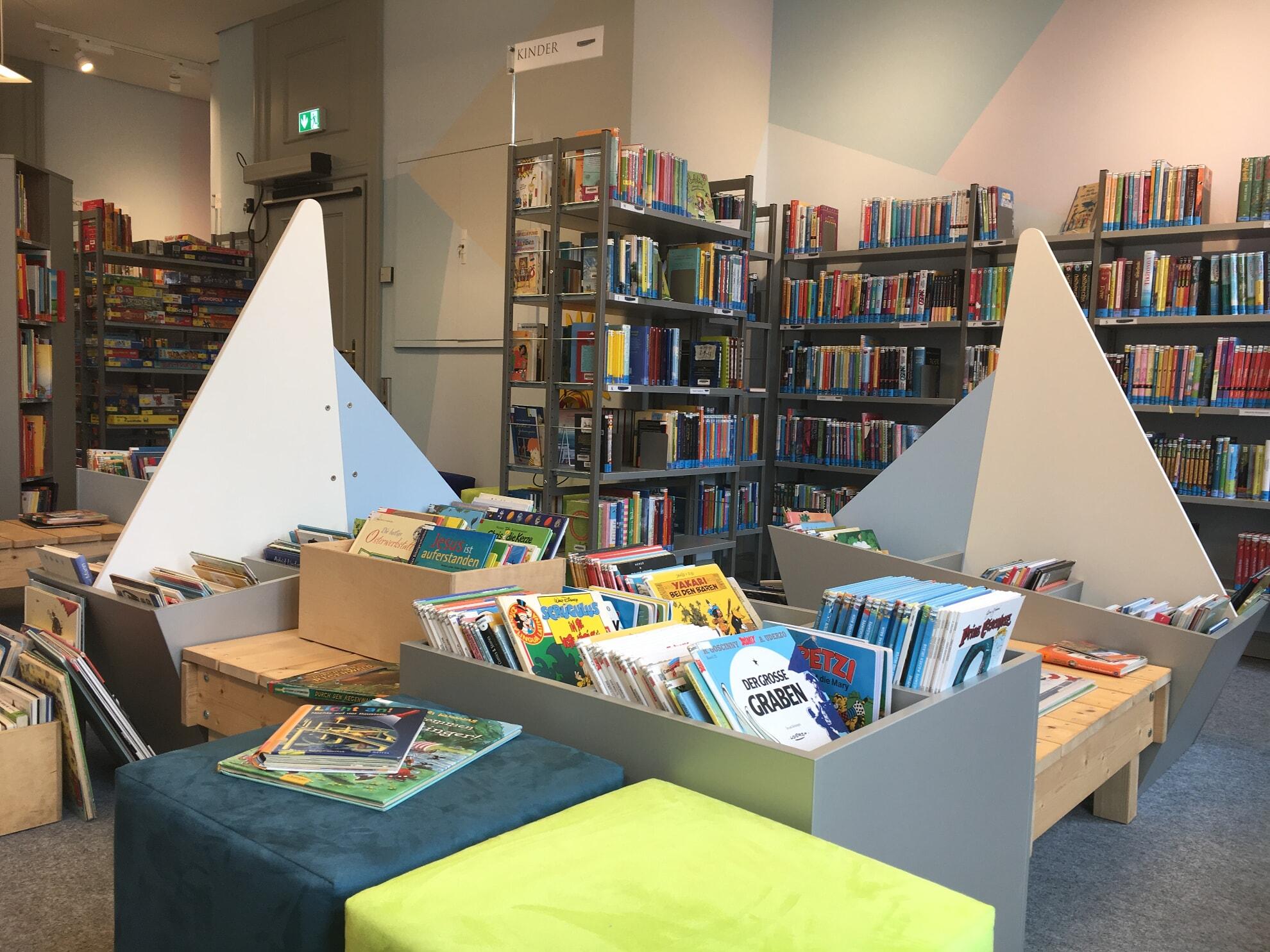 Kinderecke in der Sylt Bibliothek