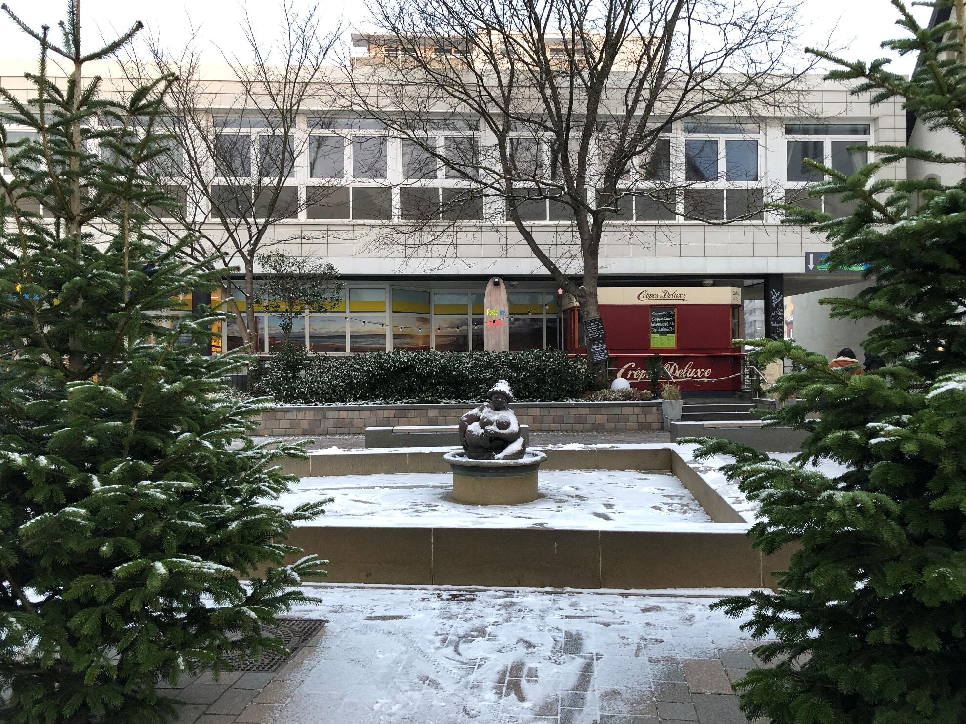 Die Wilhelmine im Schnee