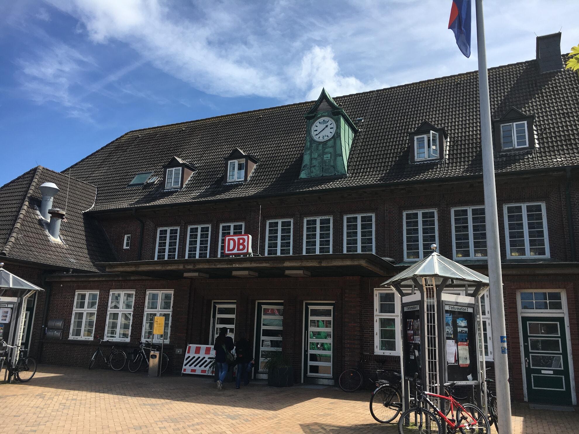 Der Westerländer Bahnhof