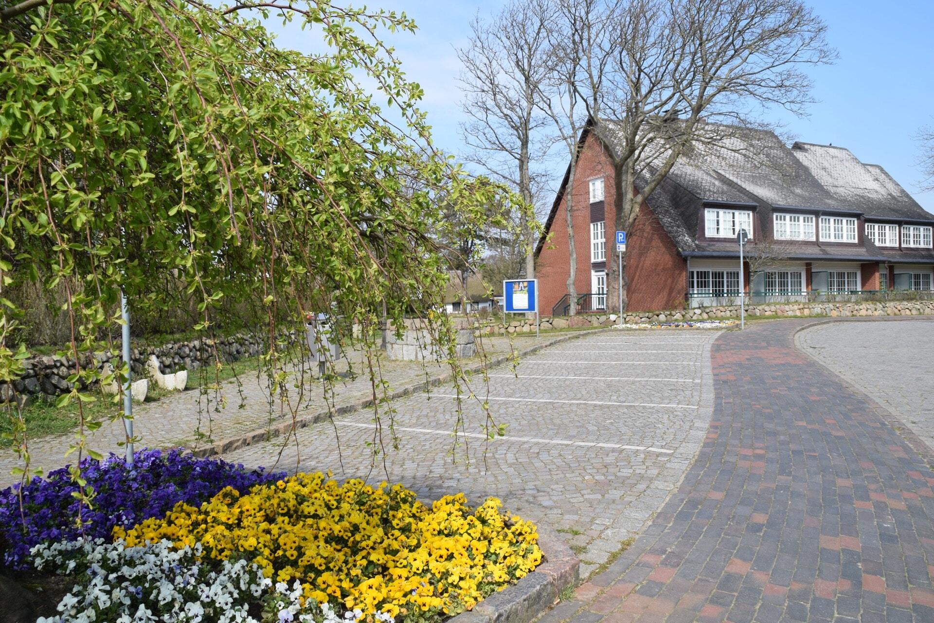 Parkplatz im Kirchenweg