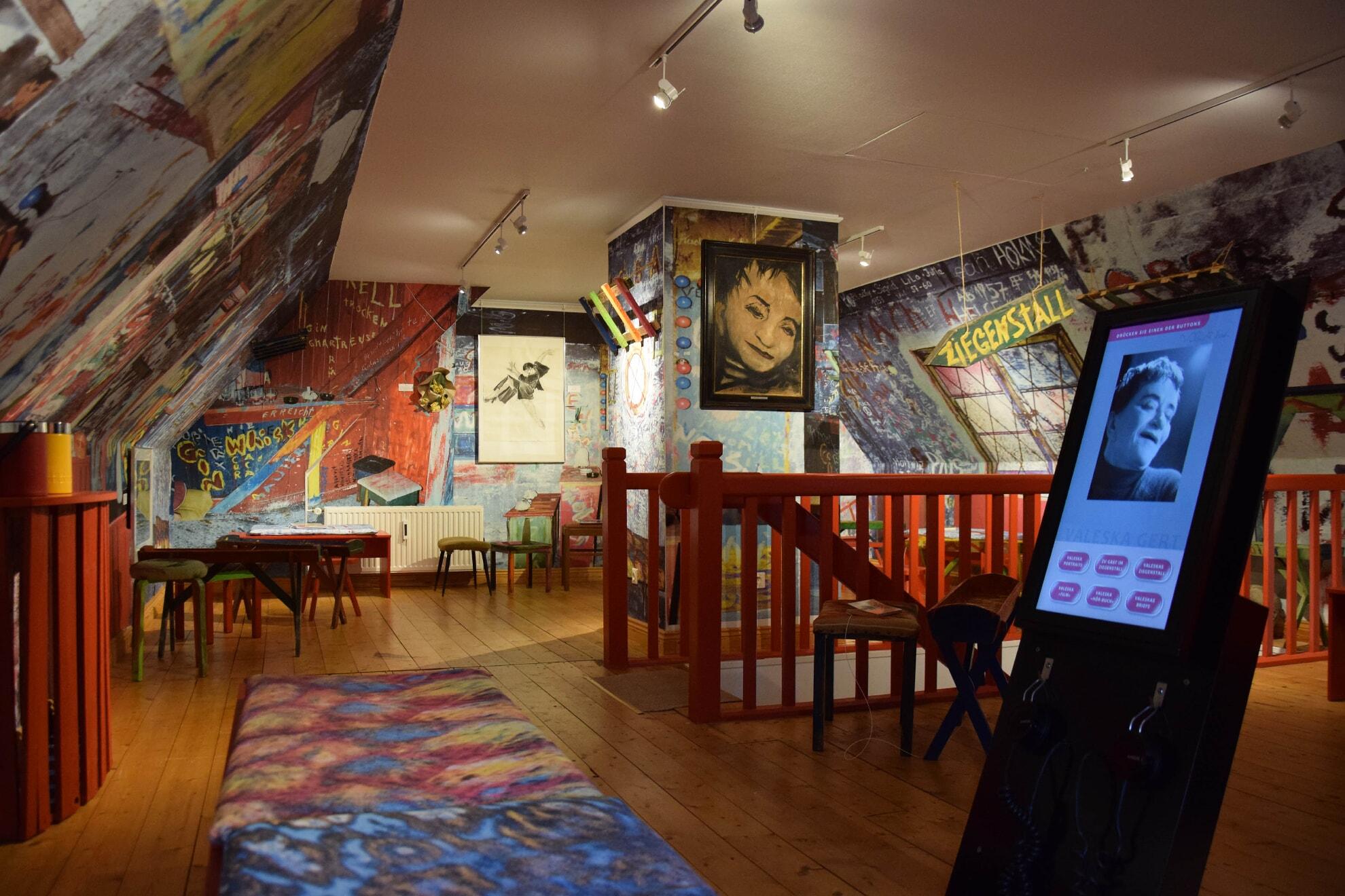 Der Ziegenstall von Valeska Gert im Sylt Museum