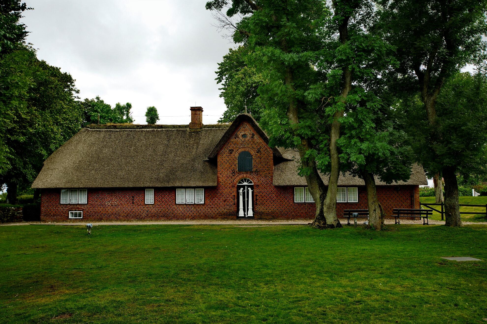 Der Eingang des Altfriesischen Haus