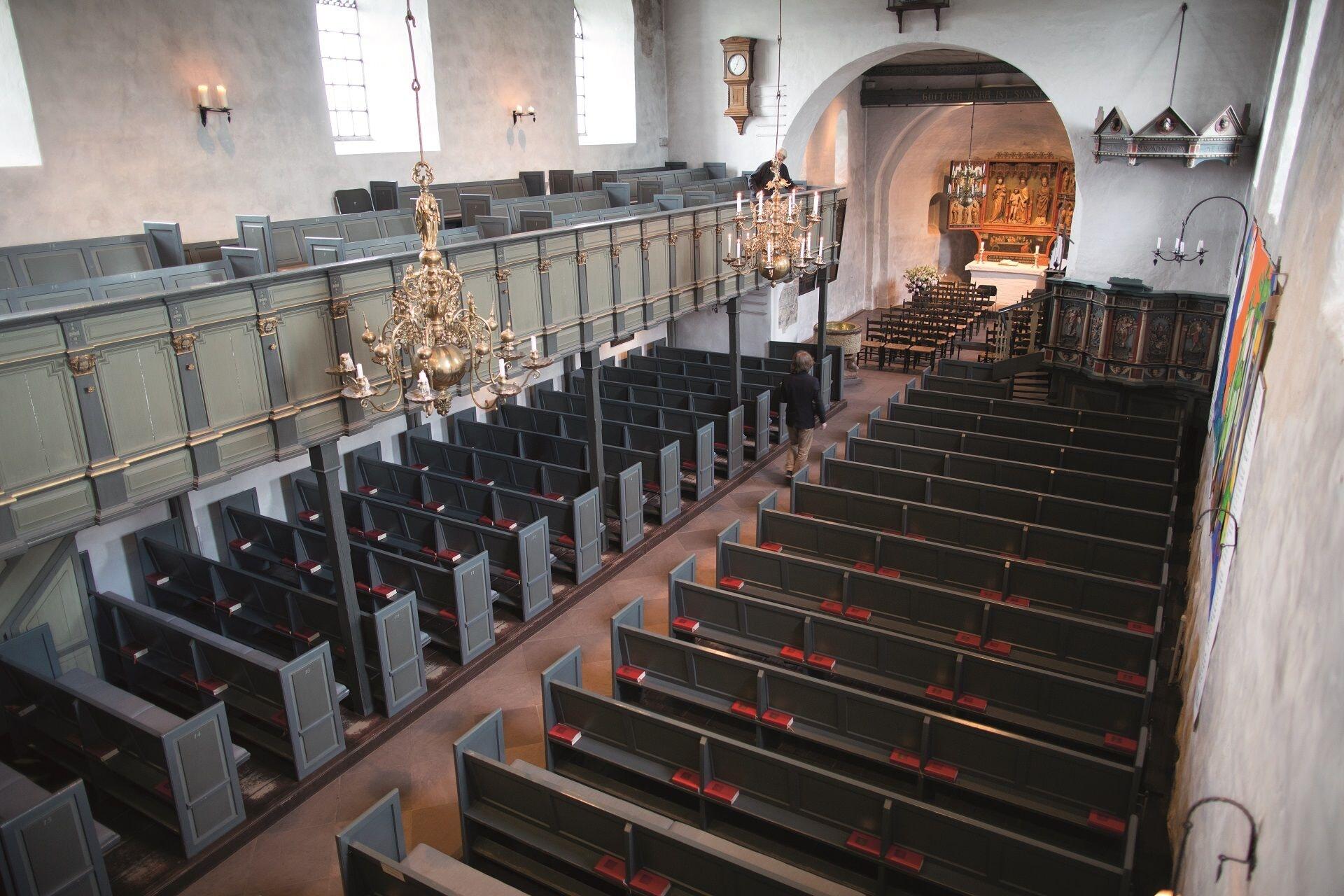 St-Severin-Kirche von Innen