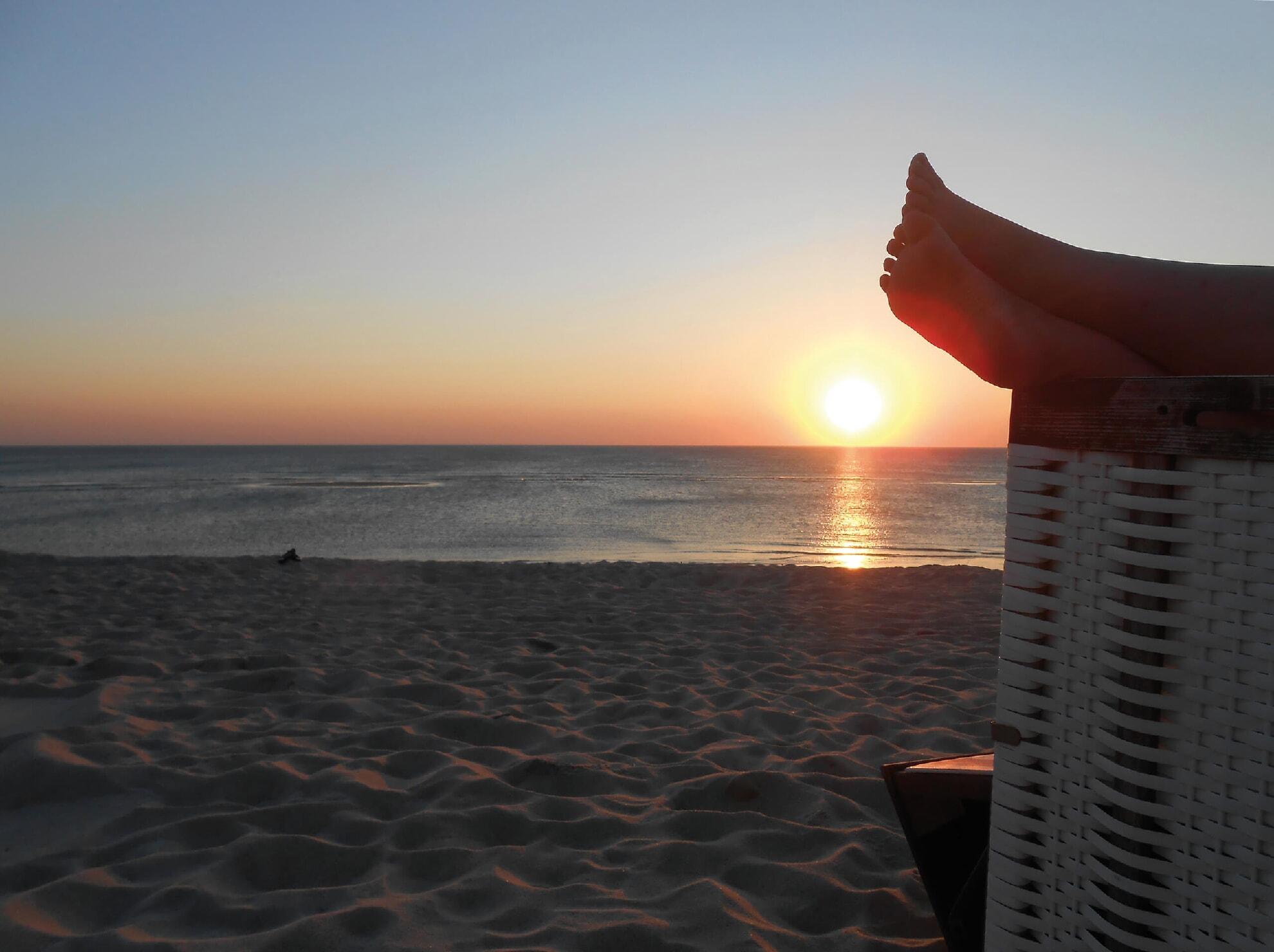 Genuss am Strand