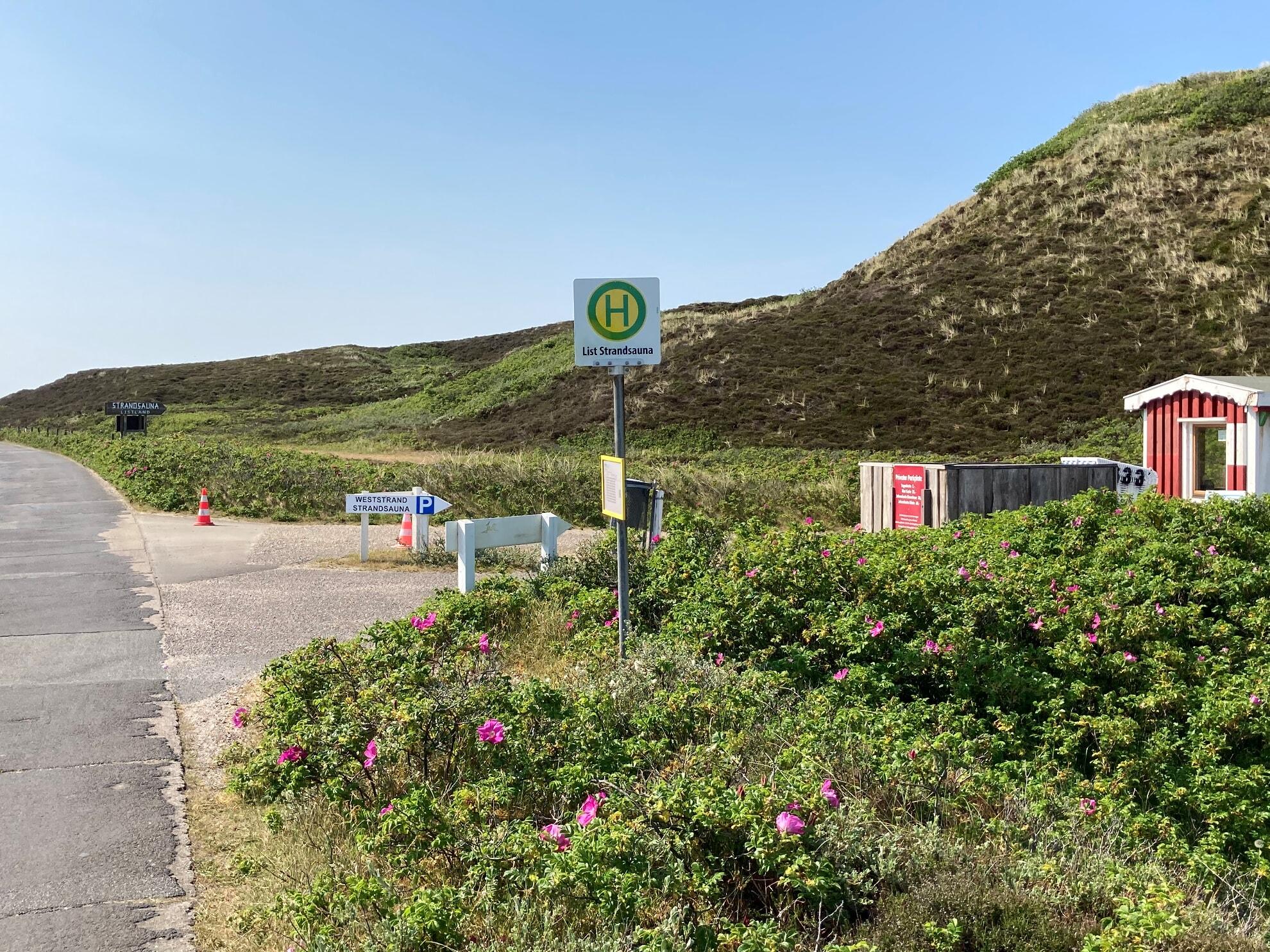 Parkplatz Strandsauna