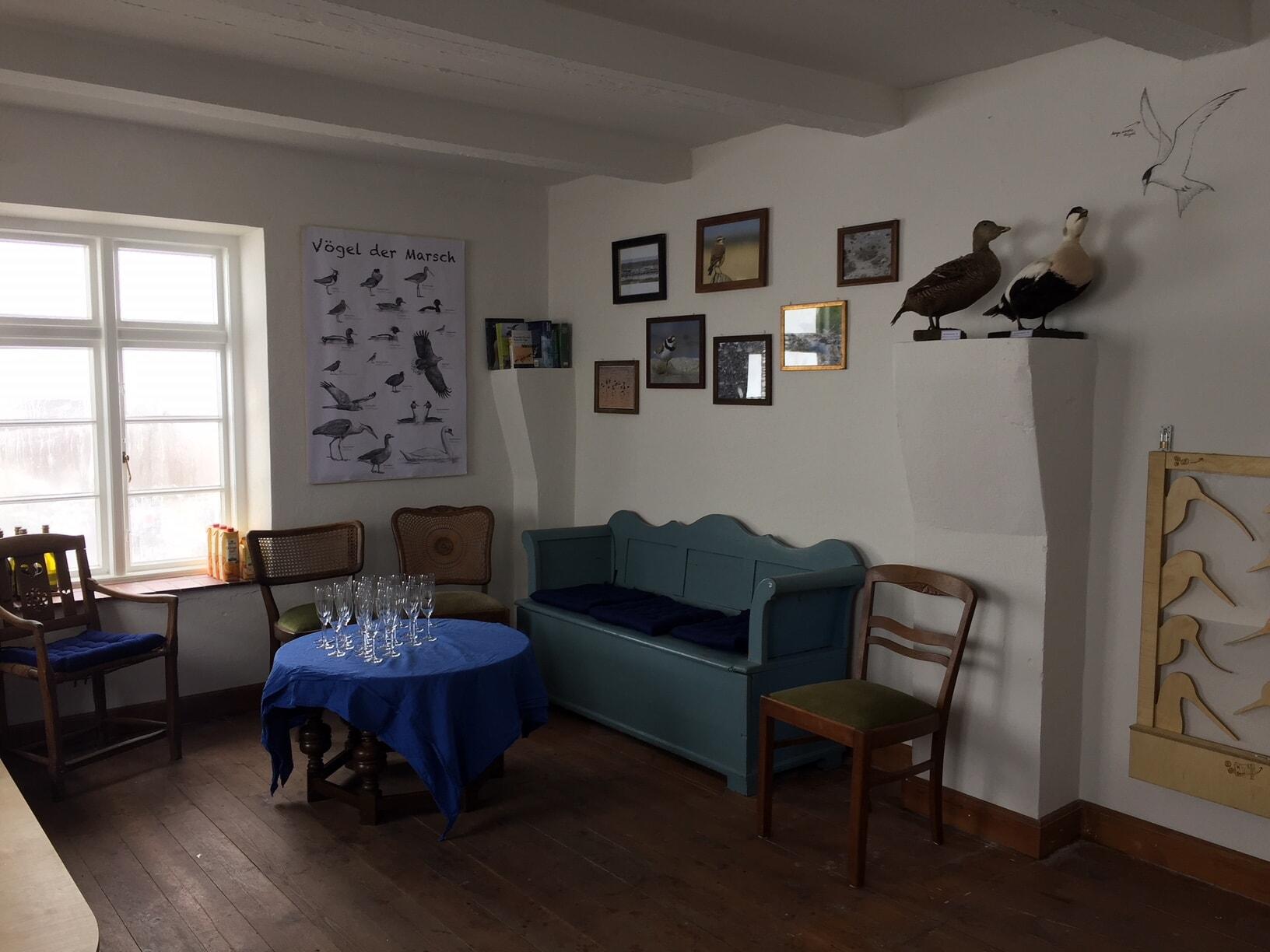 Zu Gast im Wohnzimmer des Vogelwärters