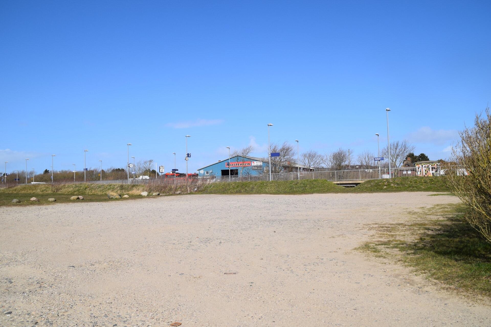 Parkplatz in Keitum