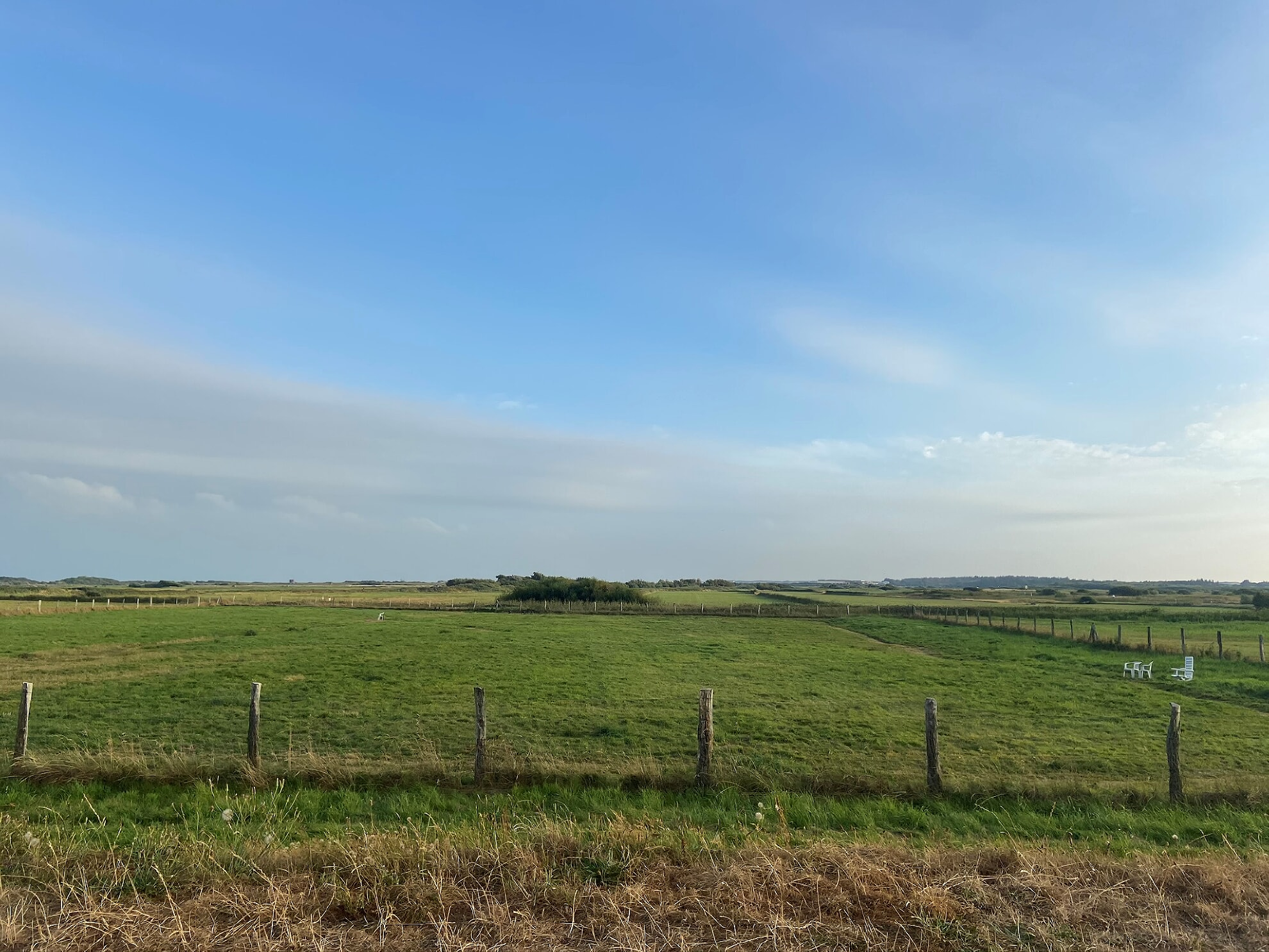 Hundefreilauffläche im Süden von Westerland