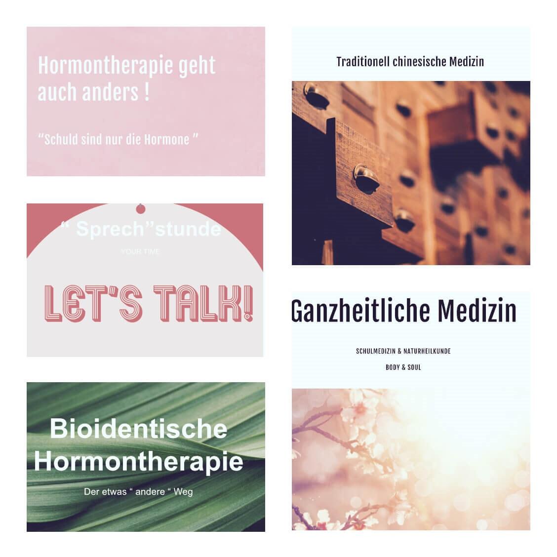 Praxis für ganzheitliche Medizin & bioidentische Hörmontherapie
