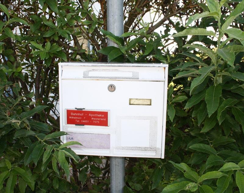 Briefkasten für Rezepte