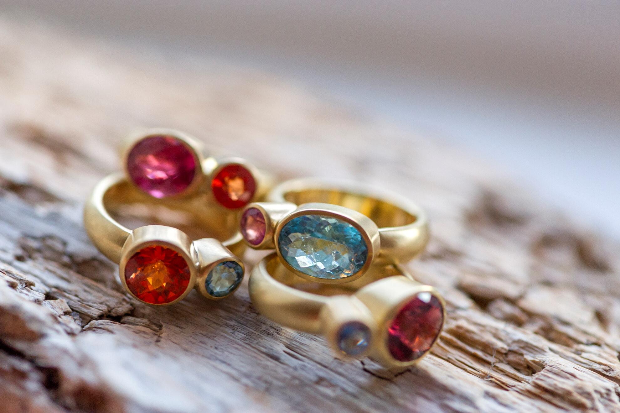 Ringe von Goldschmied Christoph Freier