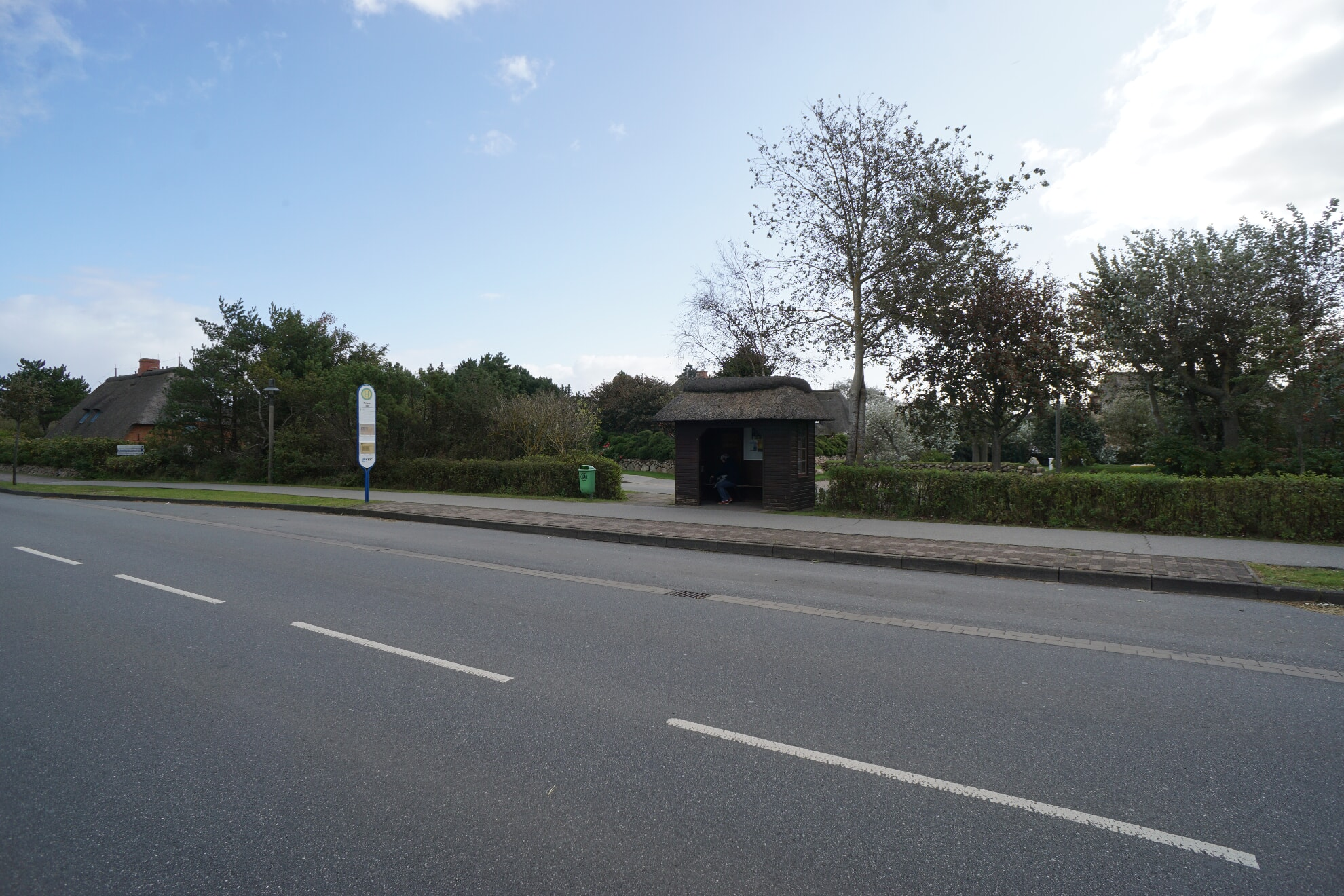 Bushaltestelle Kampen Süd