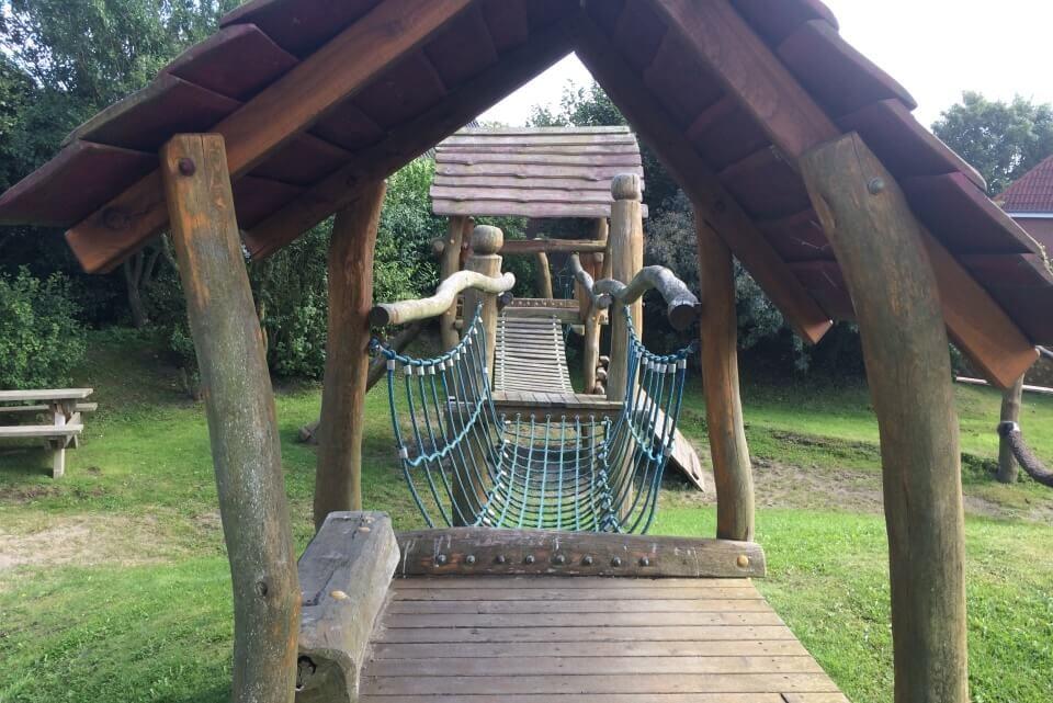 Das Kletterhaus Spielplatz Tinnum