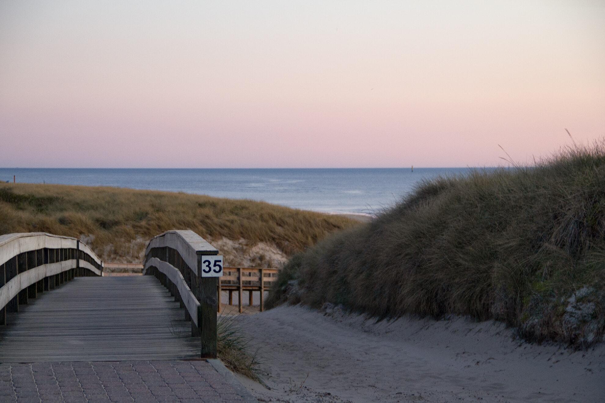 Strandübergang Risgap