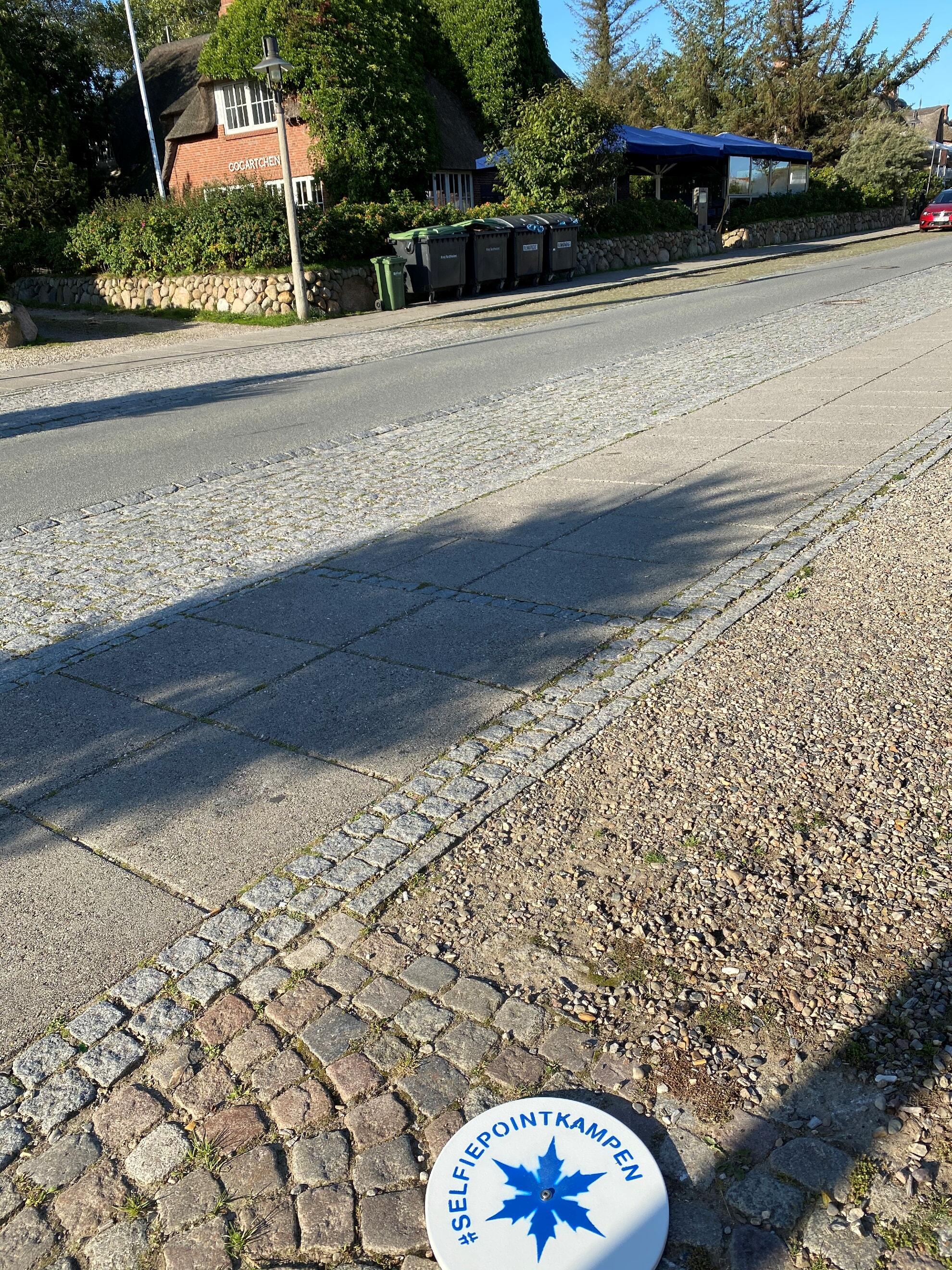 Kampener Selfie Point im Strönwai