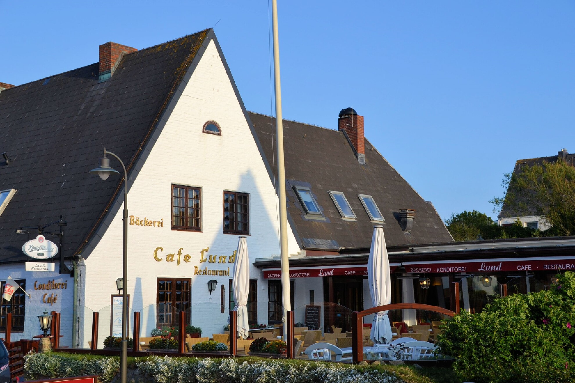 Das Café & Restaurant Lund