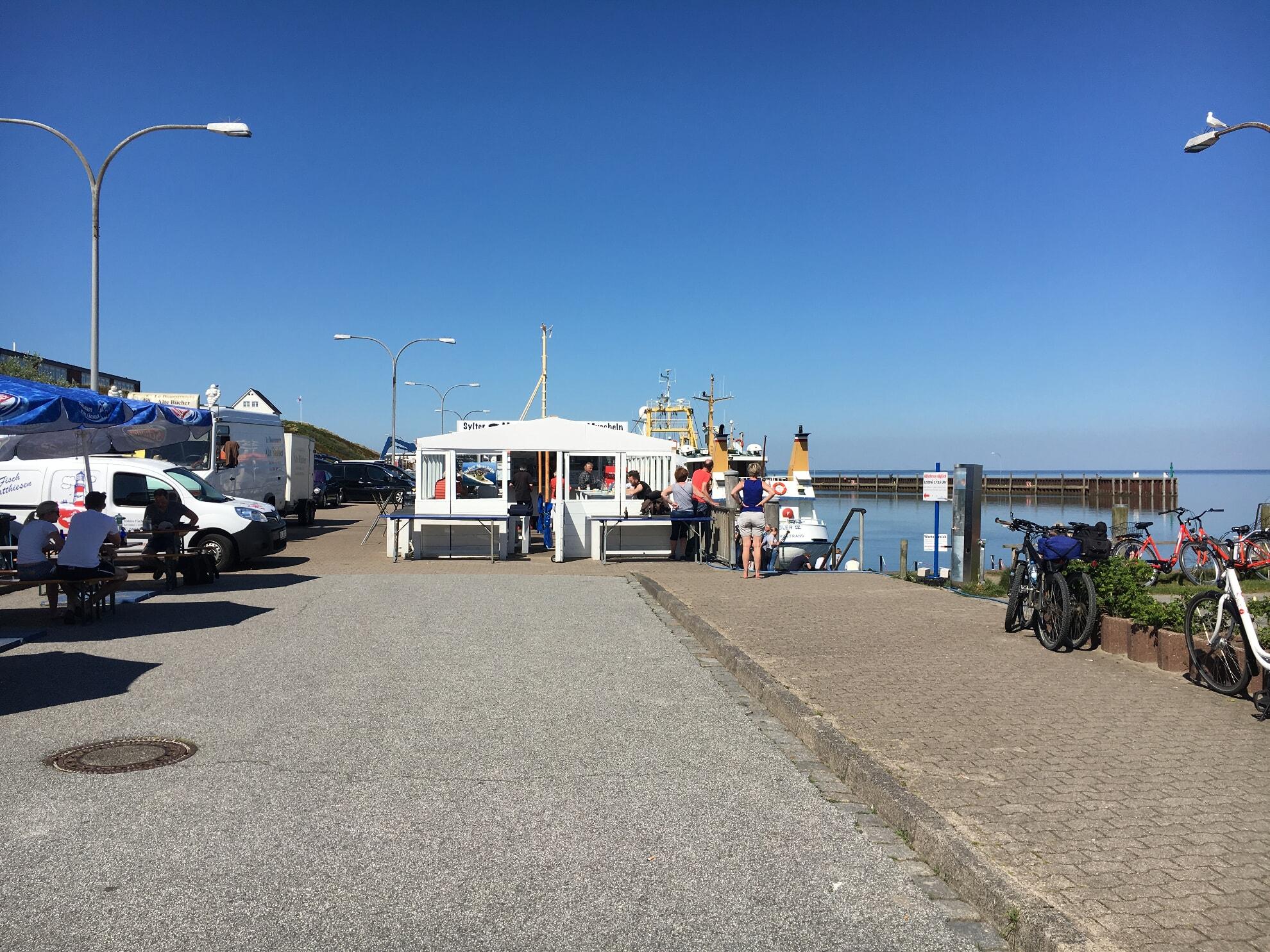 Bistro Sylter Muscheln im Hörnumer Hafen