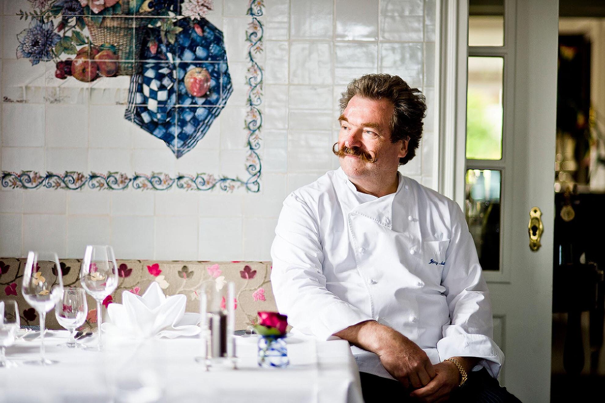 Jörg Müller in seinem Restaurant