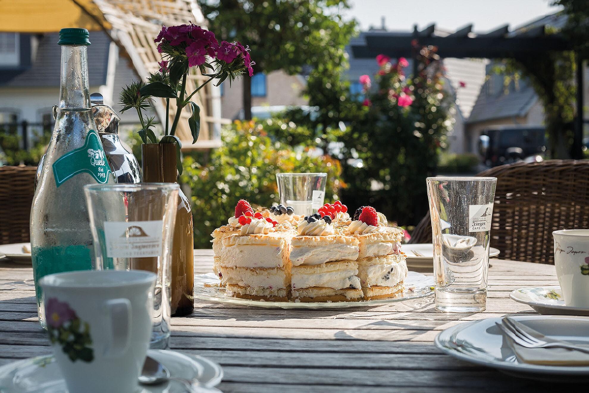 Torte im Café Ingwersen