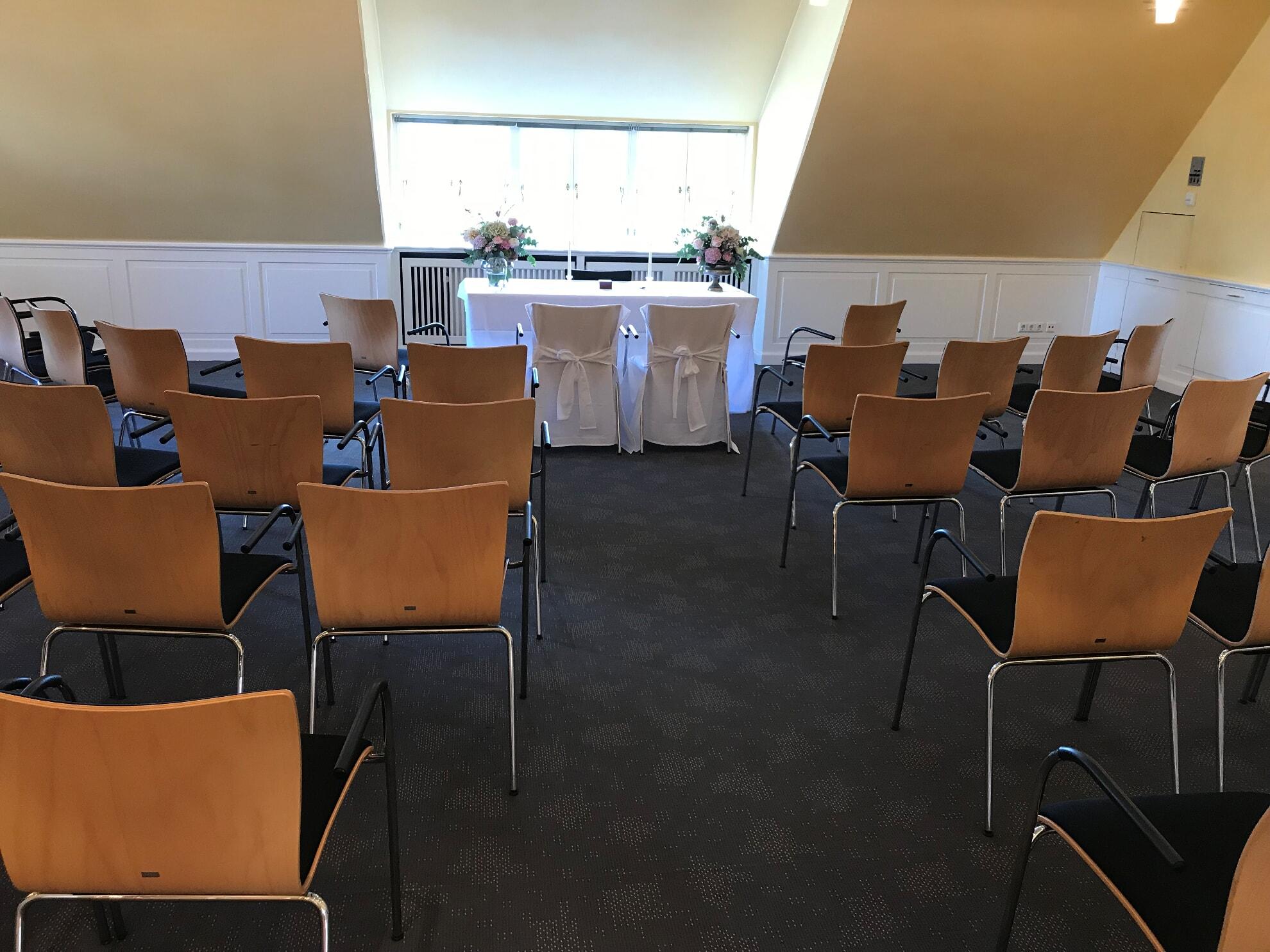 Veranstaltungsraum I   Trauzimmer im Kaamp-Hüs
