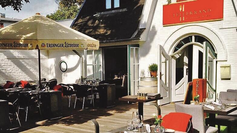 Restaurant Tellerrand Terrasse