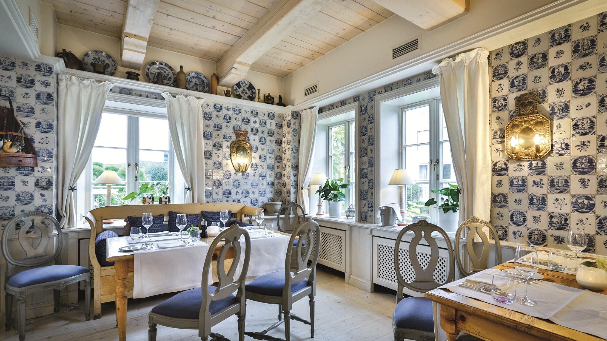 Innenansicht Restaurant Fährhaus Sylt