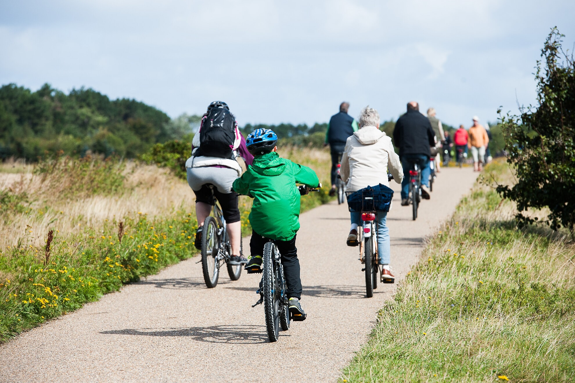 Fahrradtour für Familien
