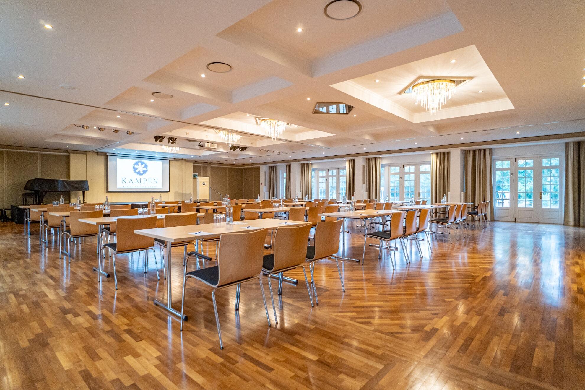 Tagung im großen Saal