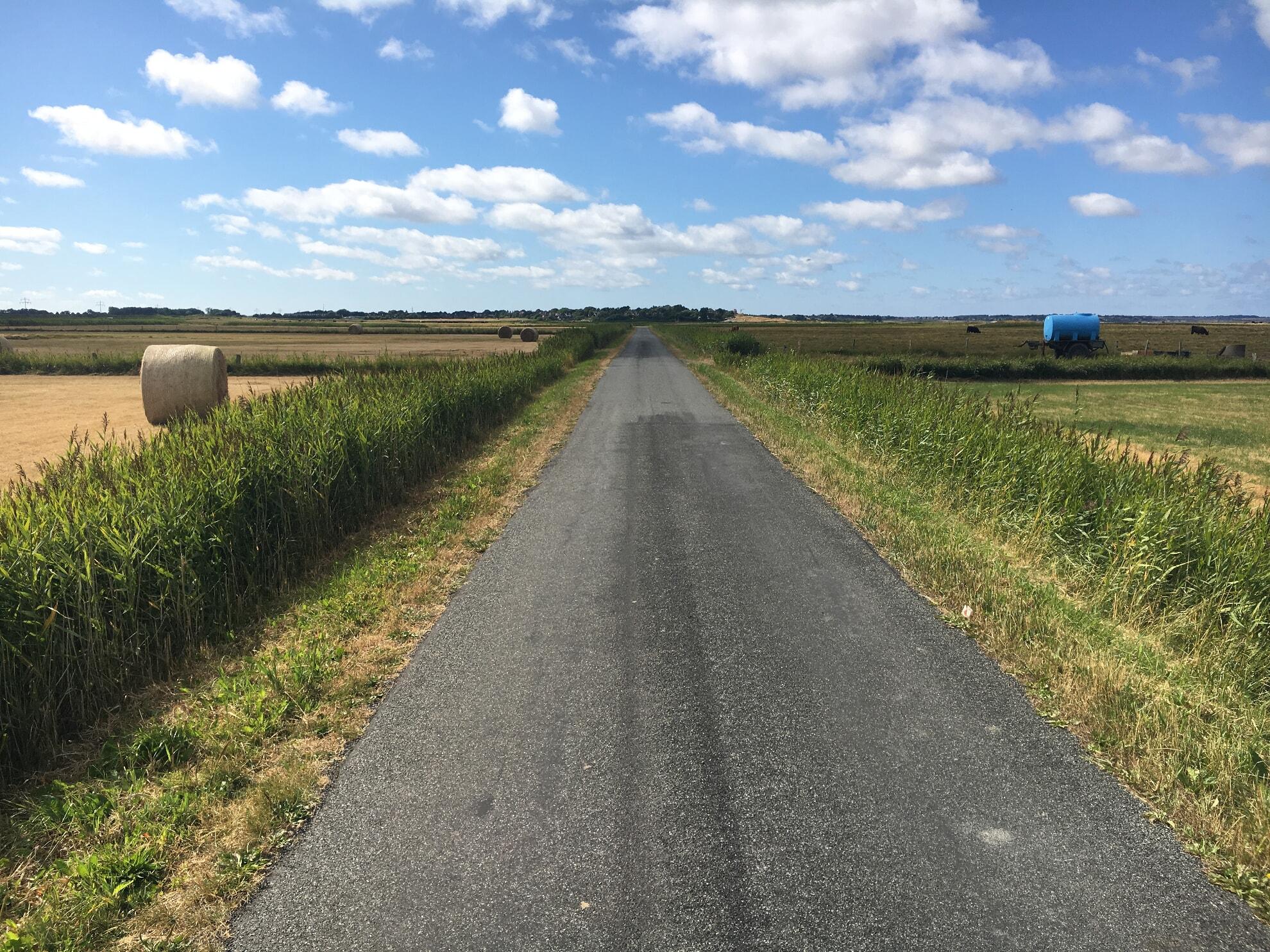Asphaltweg