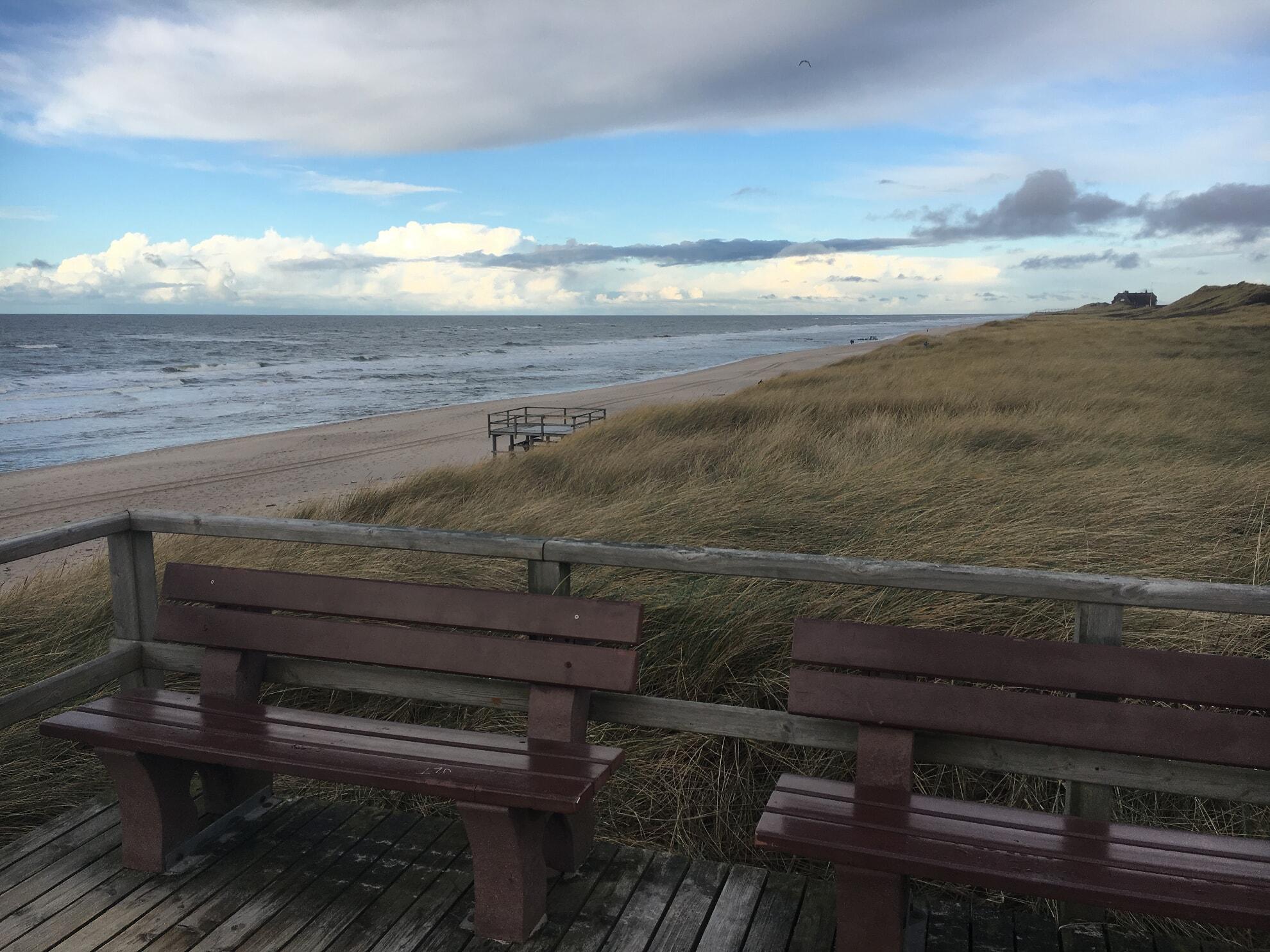 Strandübergang in Rantum