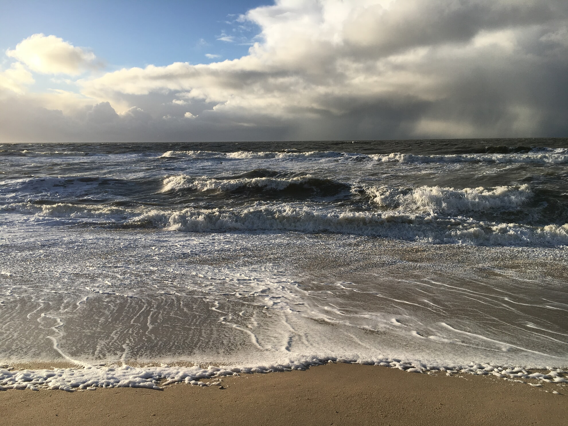 Nordsee am Rantumer Strand