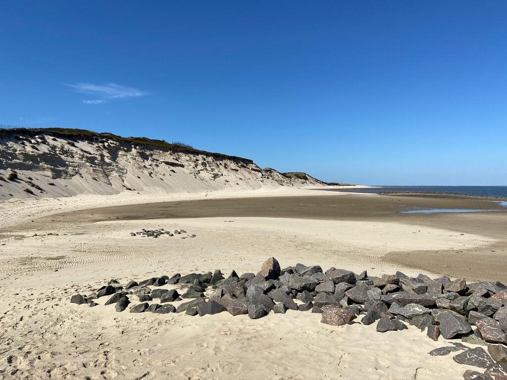 Strand im Osten von Hörnum