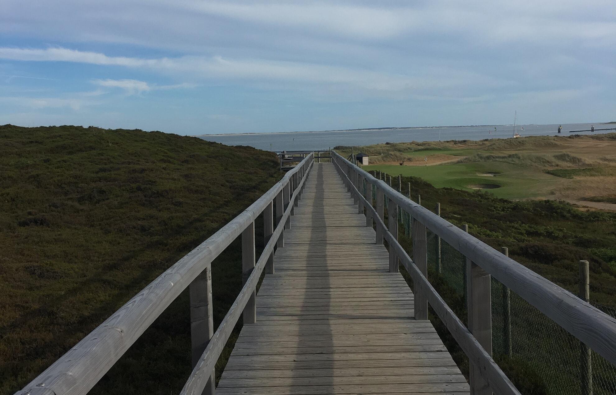 Holzweg am Hörnumer Golfplatz