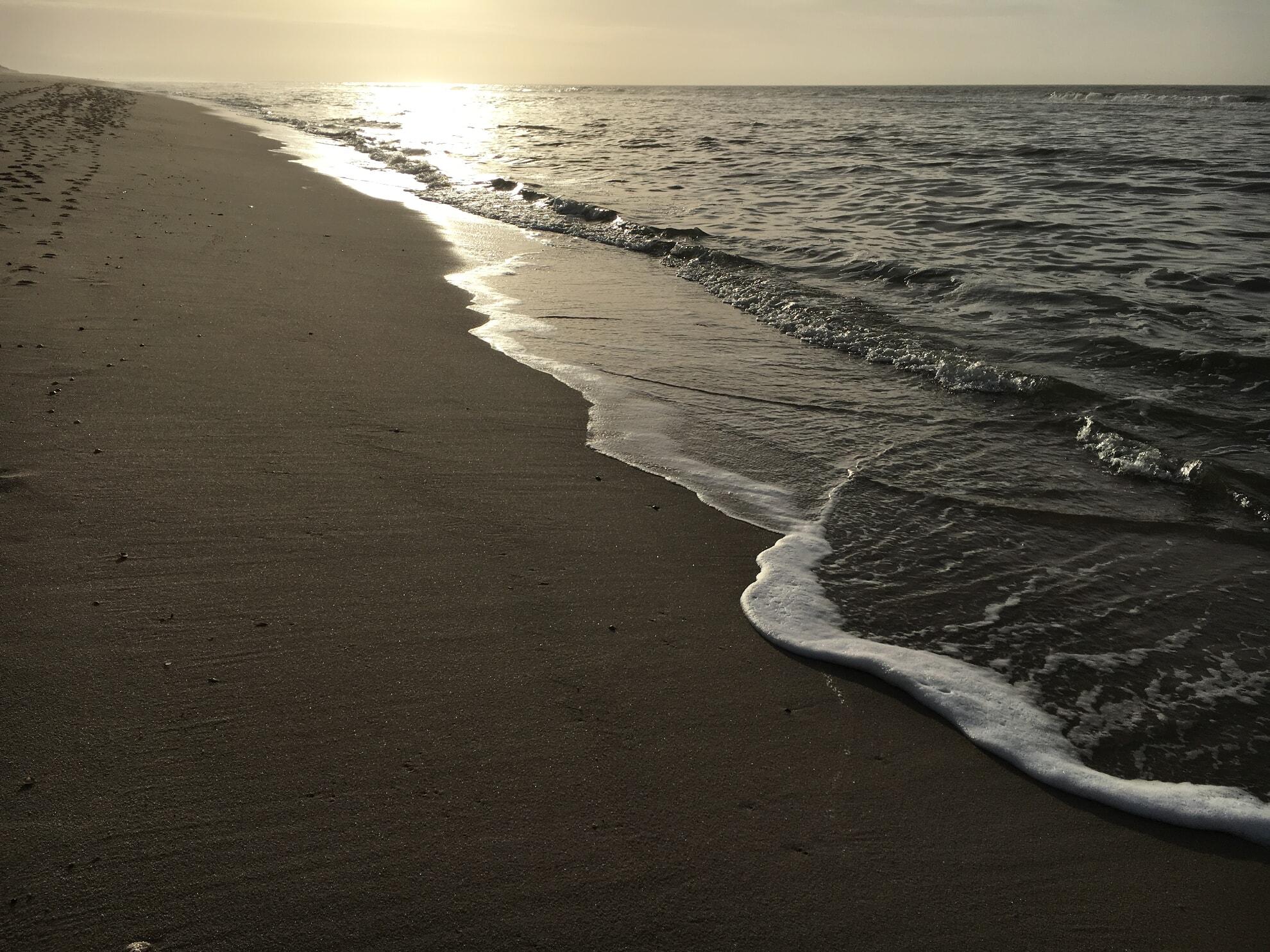 Hörnumer Strand im Winter