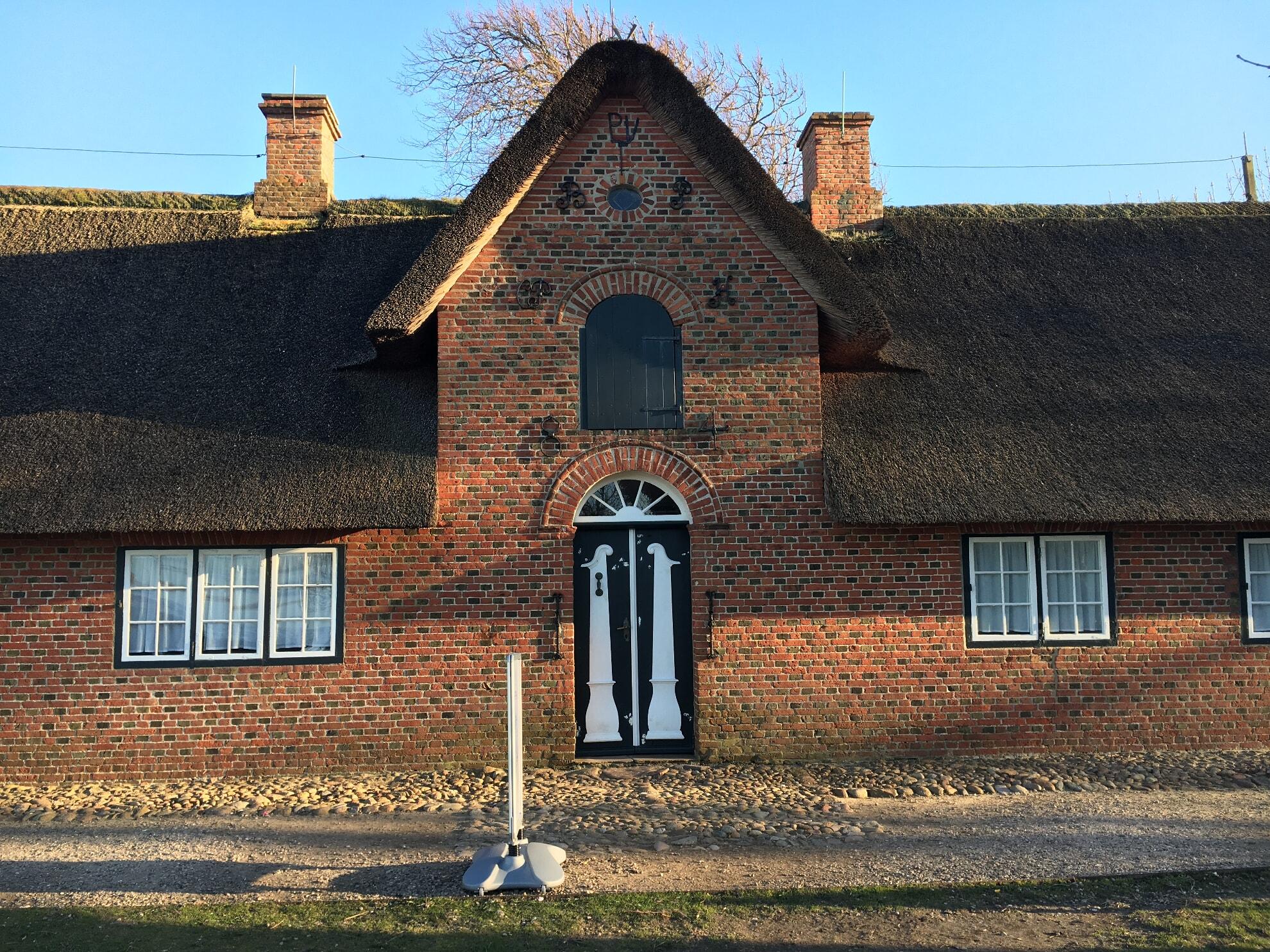 Eingang des Altfriesisches Hauses