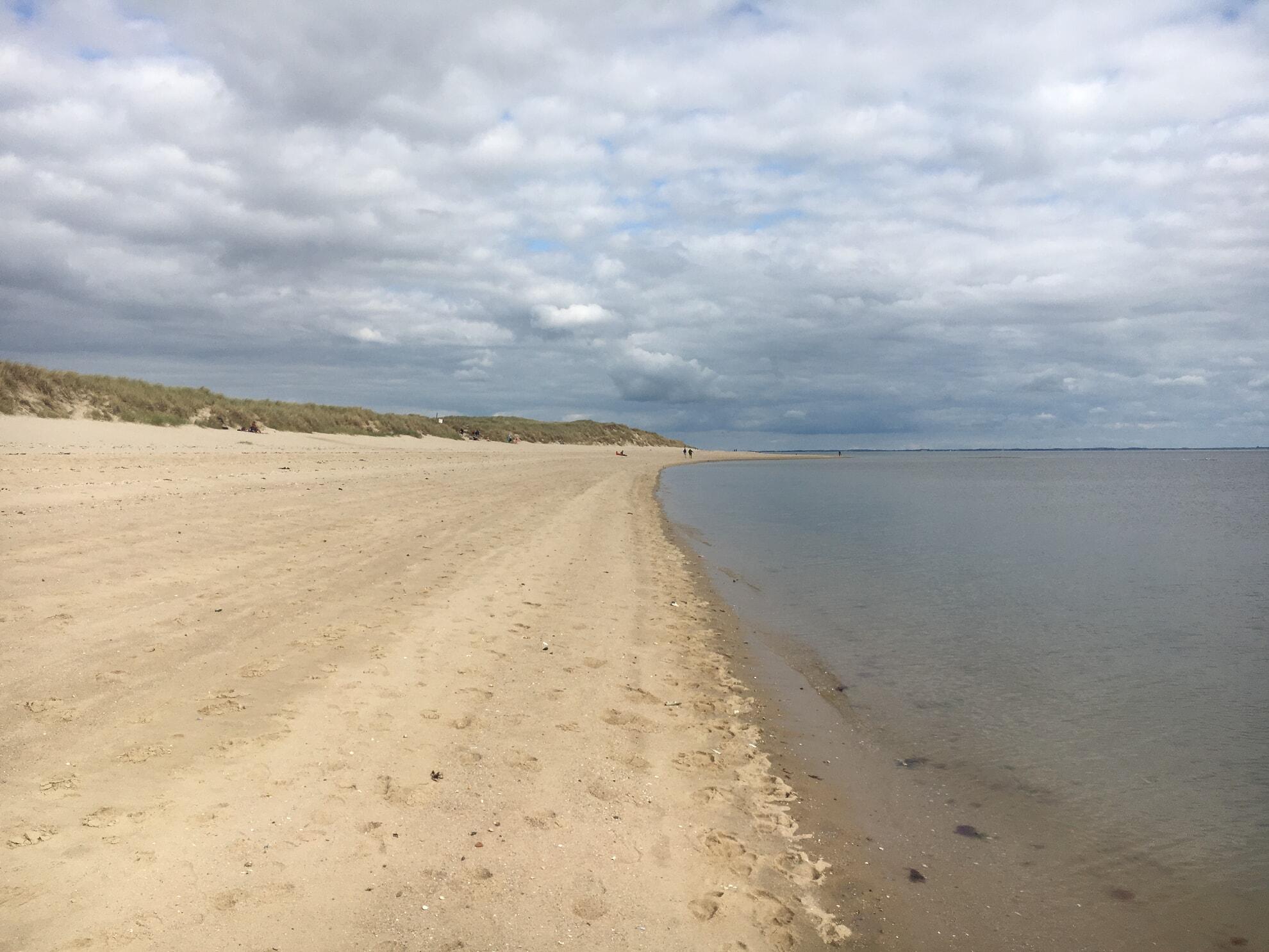 Strand am Ellenbogen