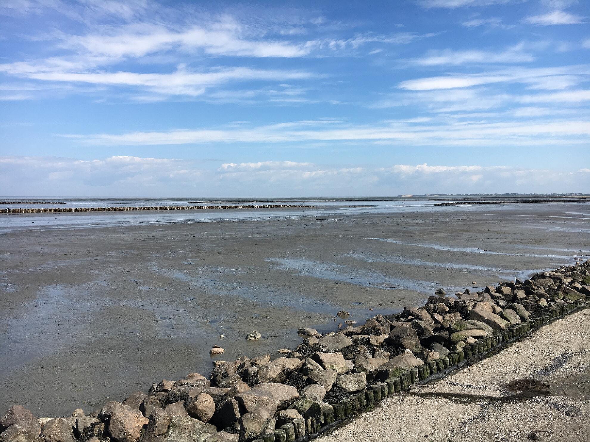 Wattenmeer in Keitum