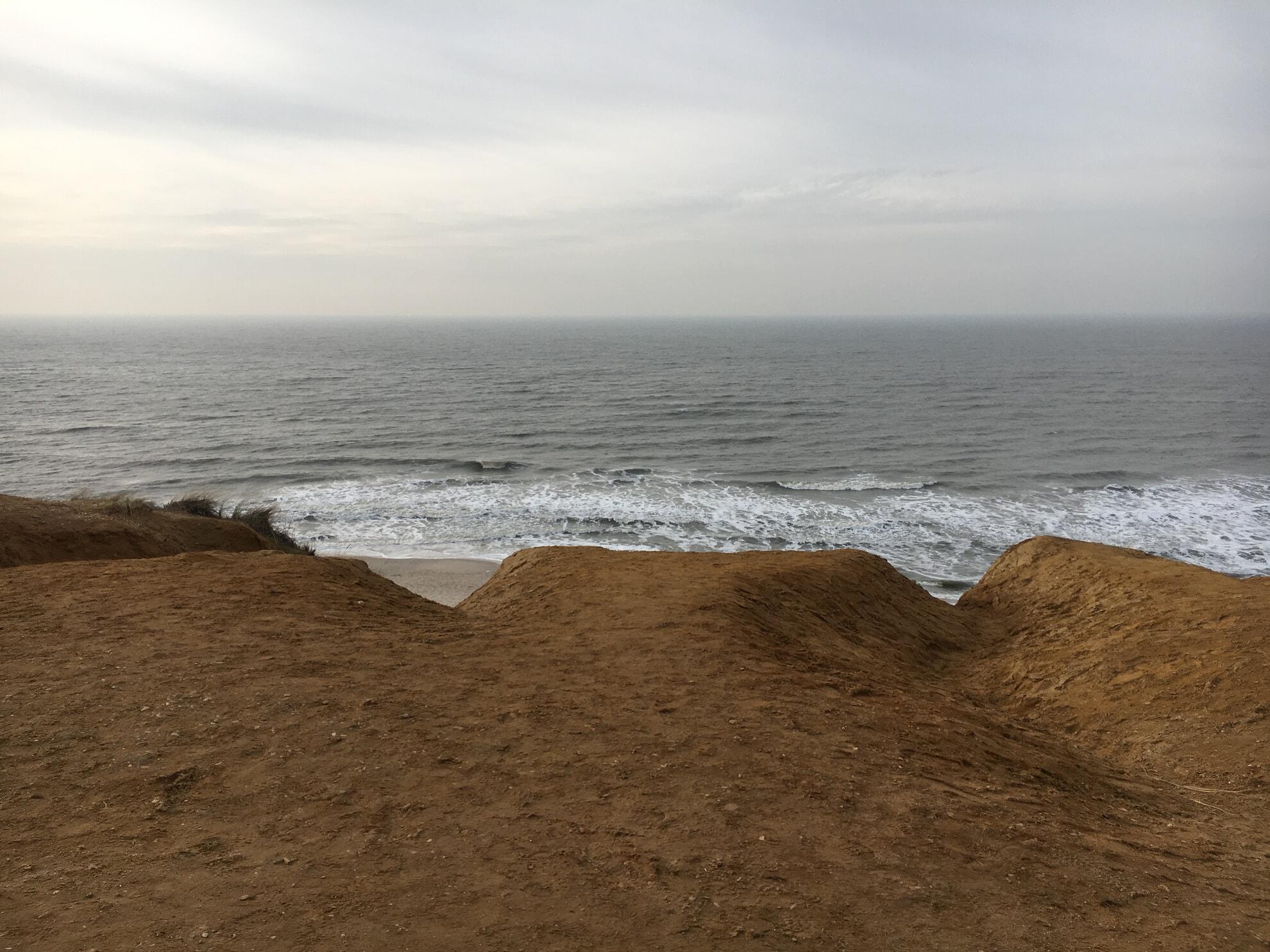 Rotes Kliff von oben
