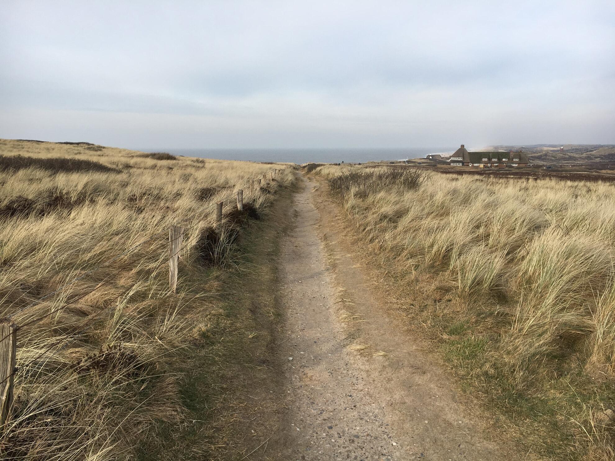 Wanderweg zur Sturmhaube
