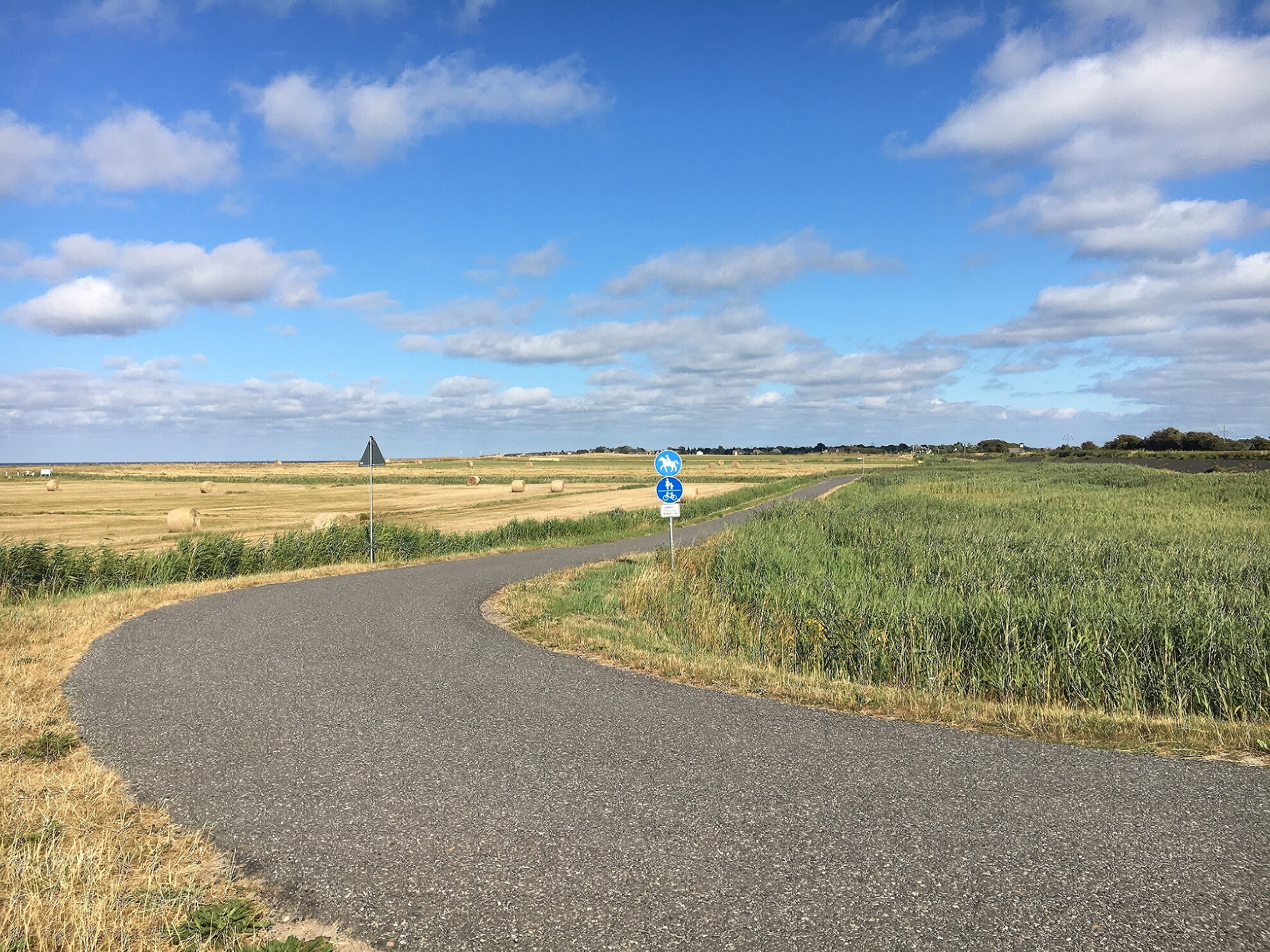 autofreier Weg zwischen Keitum und Morsum