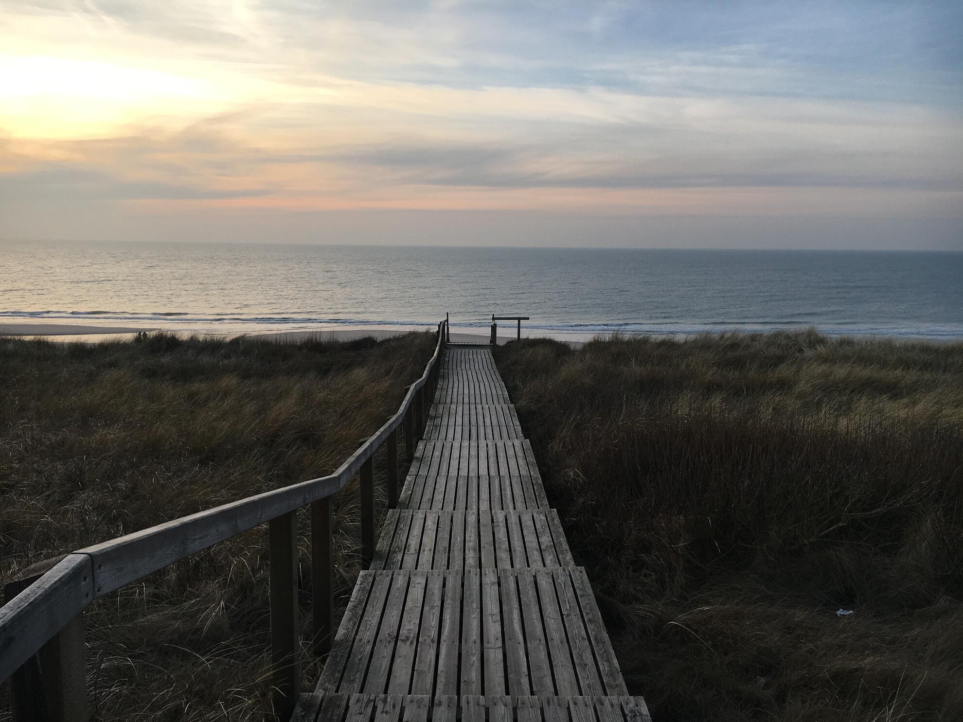 Strandübergang am Seeheim