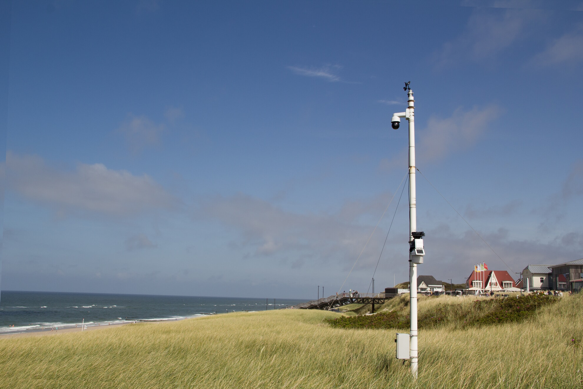 Webcam an der Promenade