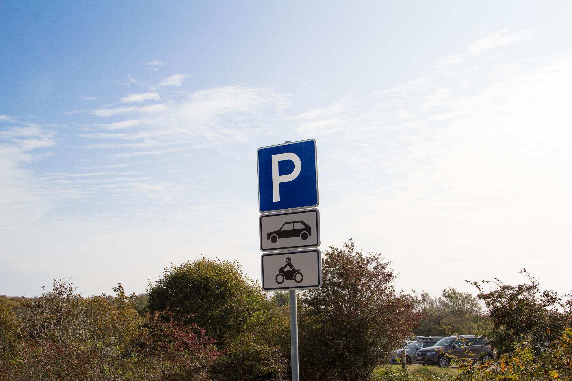 Parkplatz Braderup